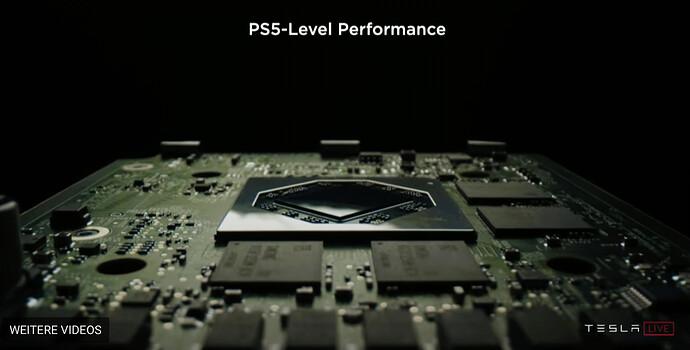 Playstation 5-Leistung für das Infotainment-System