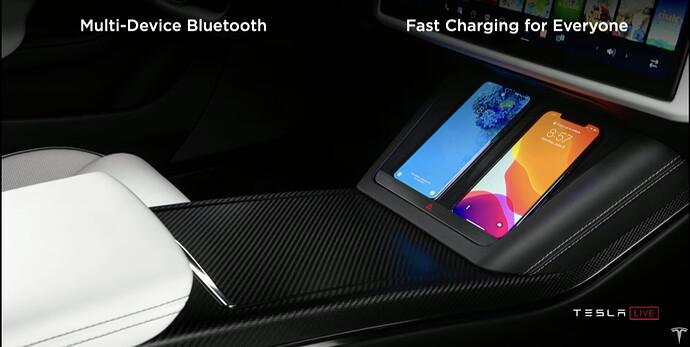 Model S durch mehrere Geräte gleichzeitig steuerbar (bspw. Musik)