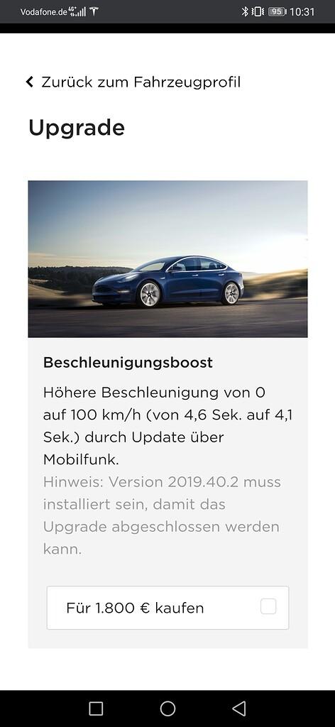 Gesh f/ür Tesla Model 3 Y Gegengewicht Autopilot FSD Assistiertes Fahren Booster